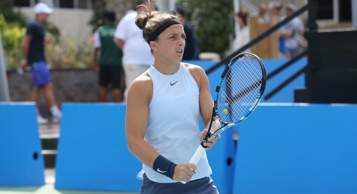 Two seeds and Schnyder fall on second day