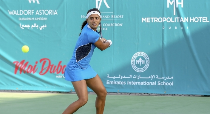 Raina clears first hurdle at Al Habtoor Tennis Challenge