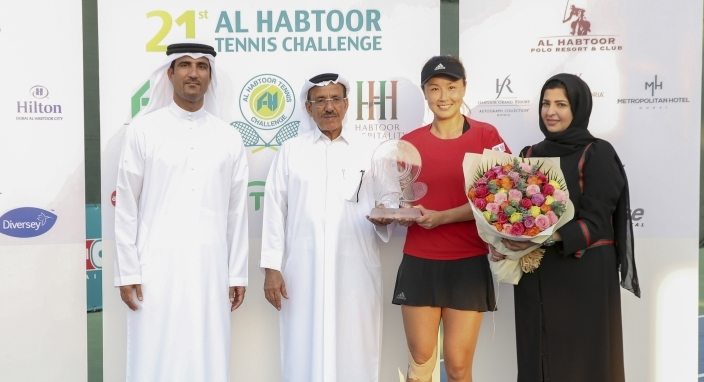 Peng wins Al Habtoor Tennis Challenge crown